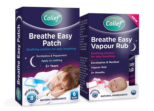 Colief Breathe Easy Range