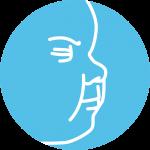 symptoms of colic - flushed cheeks